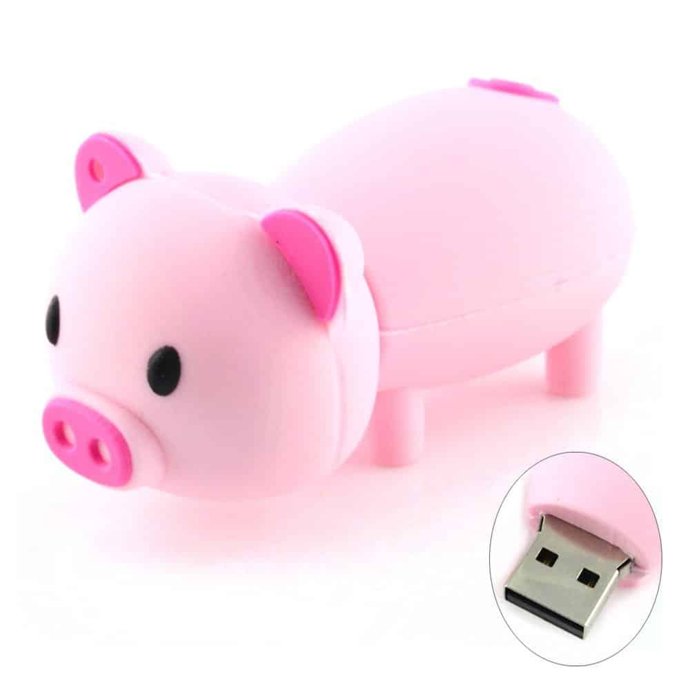 Animal USB 2.0 Flash Drive, 8GB