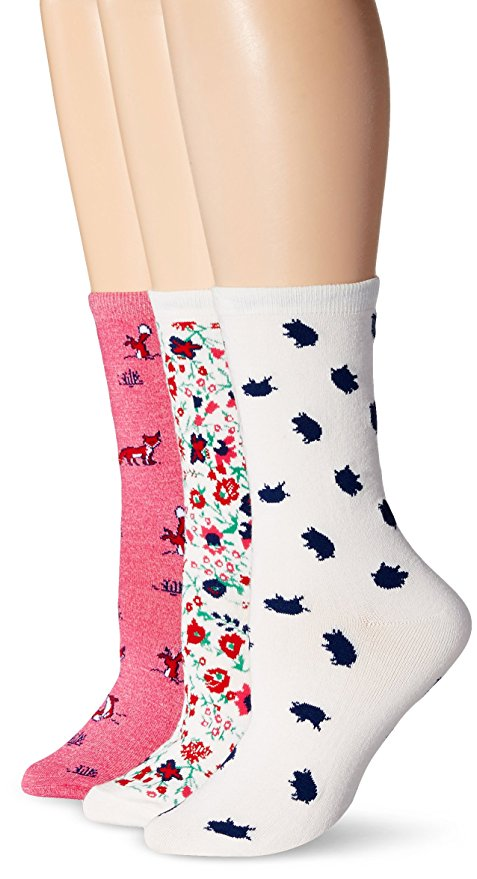 Jane & Bleecker Women's Winter Garden Fox Play Piggy 3PP