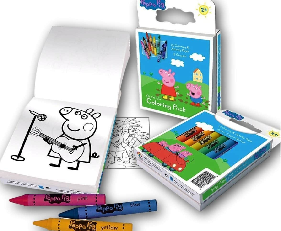 Peppa Pig On the Go 72 page Coloring Activity Book