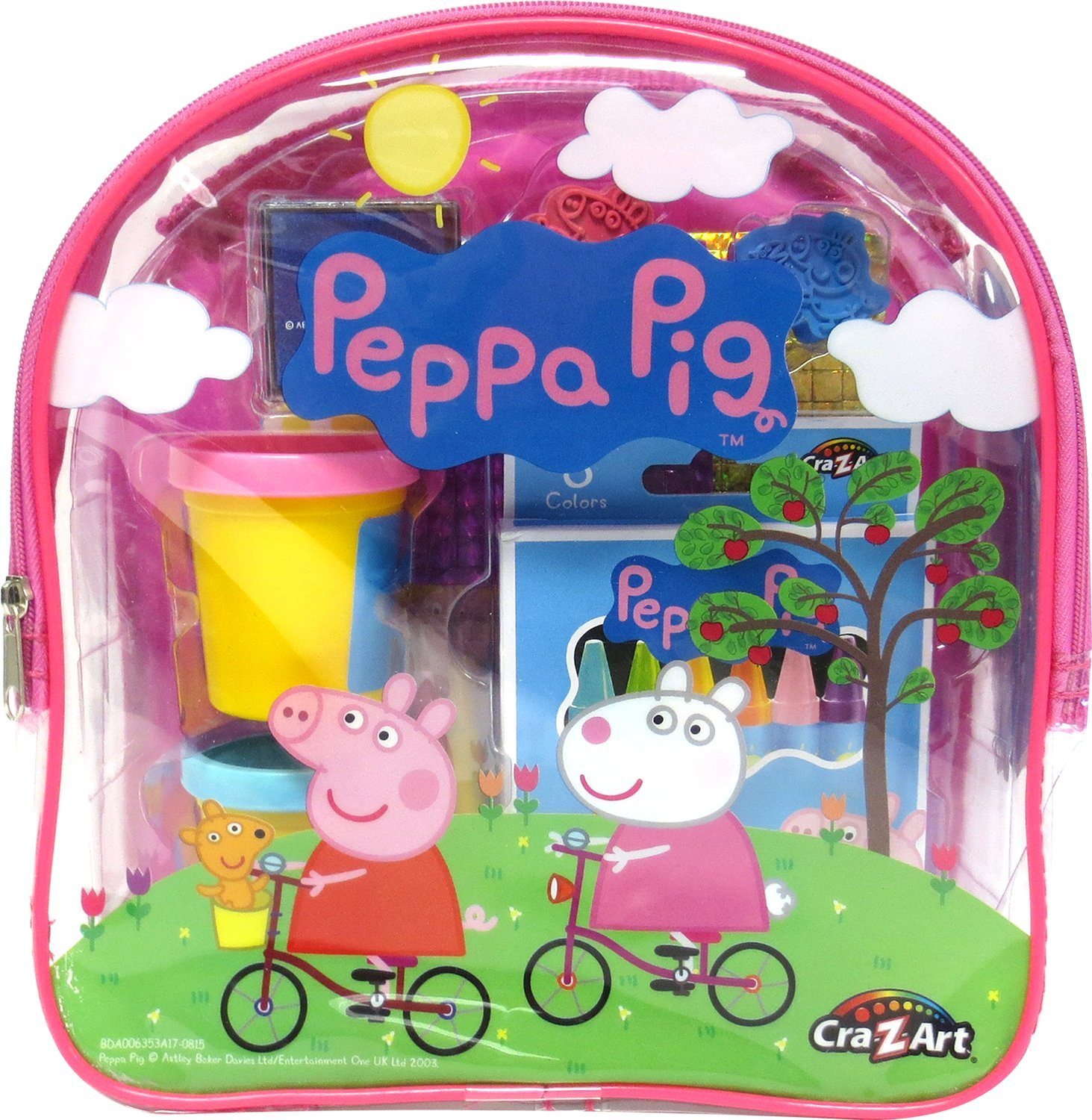 Peppa Pig Ultimate Activities Backpack Building Kit