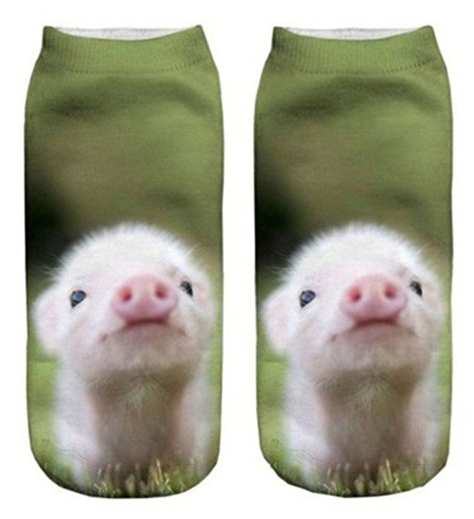 Women's Cool Animal Fun Crazy Socks