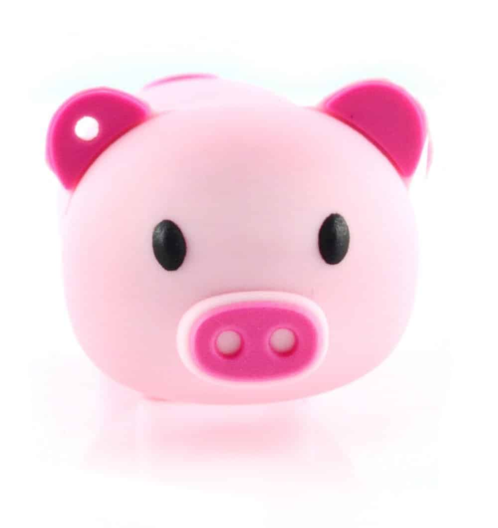 32gb Cartoon Novelty Pink Piggy USB Flash Drive Pendrive