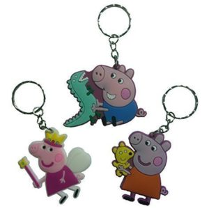 Peppa Pig Keychains 3 Pcs Set