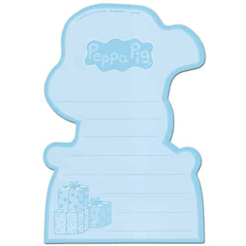Amscan Peppa Pig Birthday Party Postcard Thank You Cards Multicolor