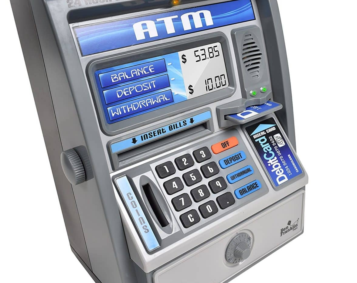 Buy Kids Talking ATM Machine at The Piggy Store