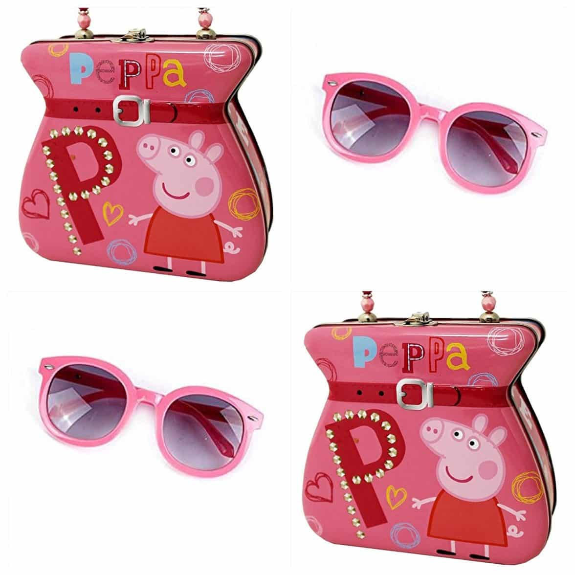 Exclusive Peppa Pig Tin Storage Purse 2 Piece Set