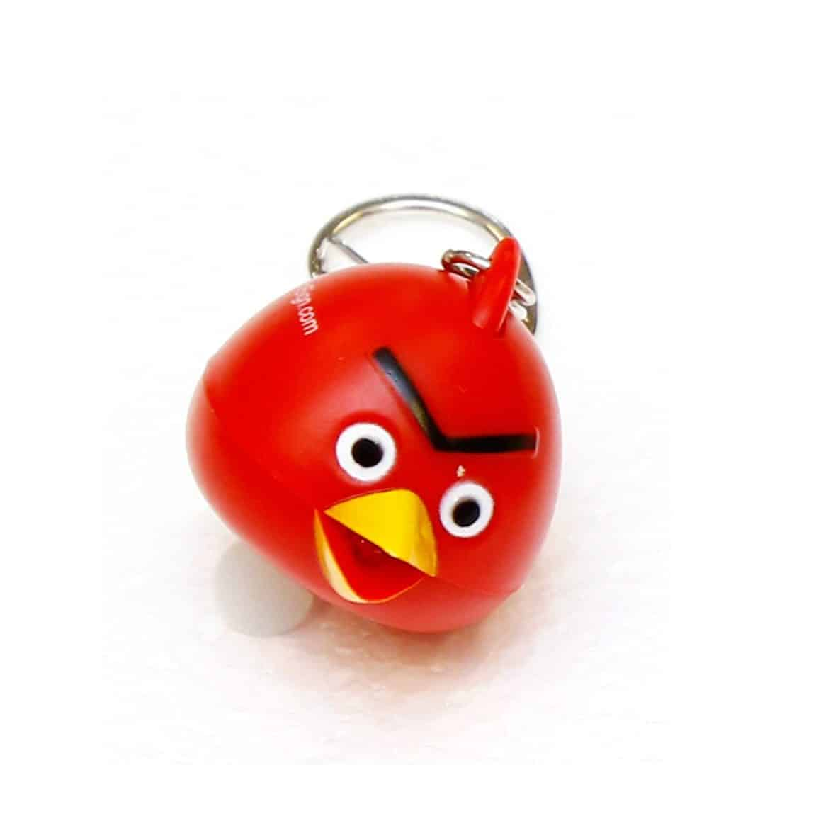 LED Light & Sound Keychains (Red)