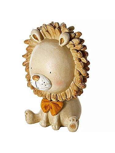 Mousehouse Gifts Golden Lion Safari Money Box Toy Coin Savings Piggy Bank for Baby Kids Children Present Gift for Boys Girls