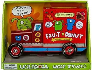 Ox & Wedgehead's Donut Delivery Uglydoll Tin Truck Coin Bank Series