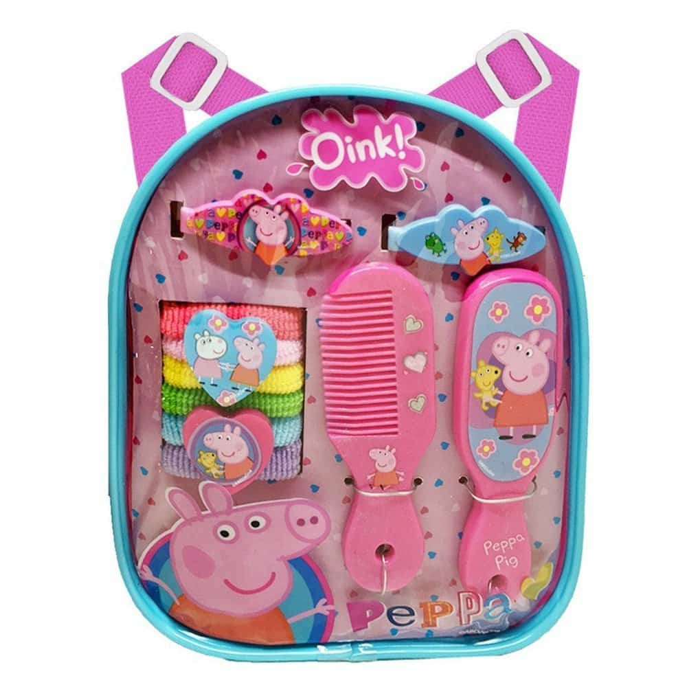 Peppa Pig Backpack Hair Accessory Set