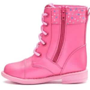 Peppa Pig Toddler Girls' Combat Boots (11, Pink)