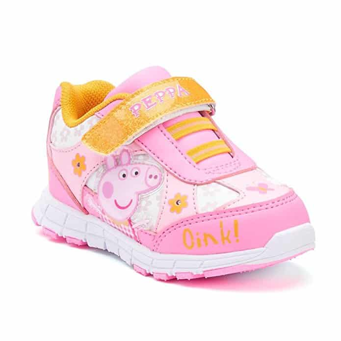 Peppa Pig Toddler Girls' Sneaker Shoes Light-Up