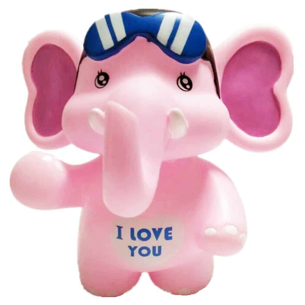 SAVING NOW Pink Elephant Piggy Bank Makes a Perfect Unique Gift Nursery Décor Keepsake or Savings Piggy Bank for Kids