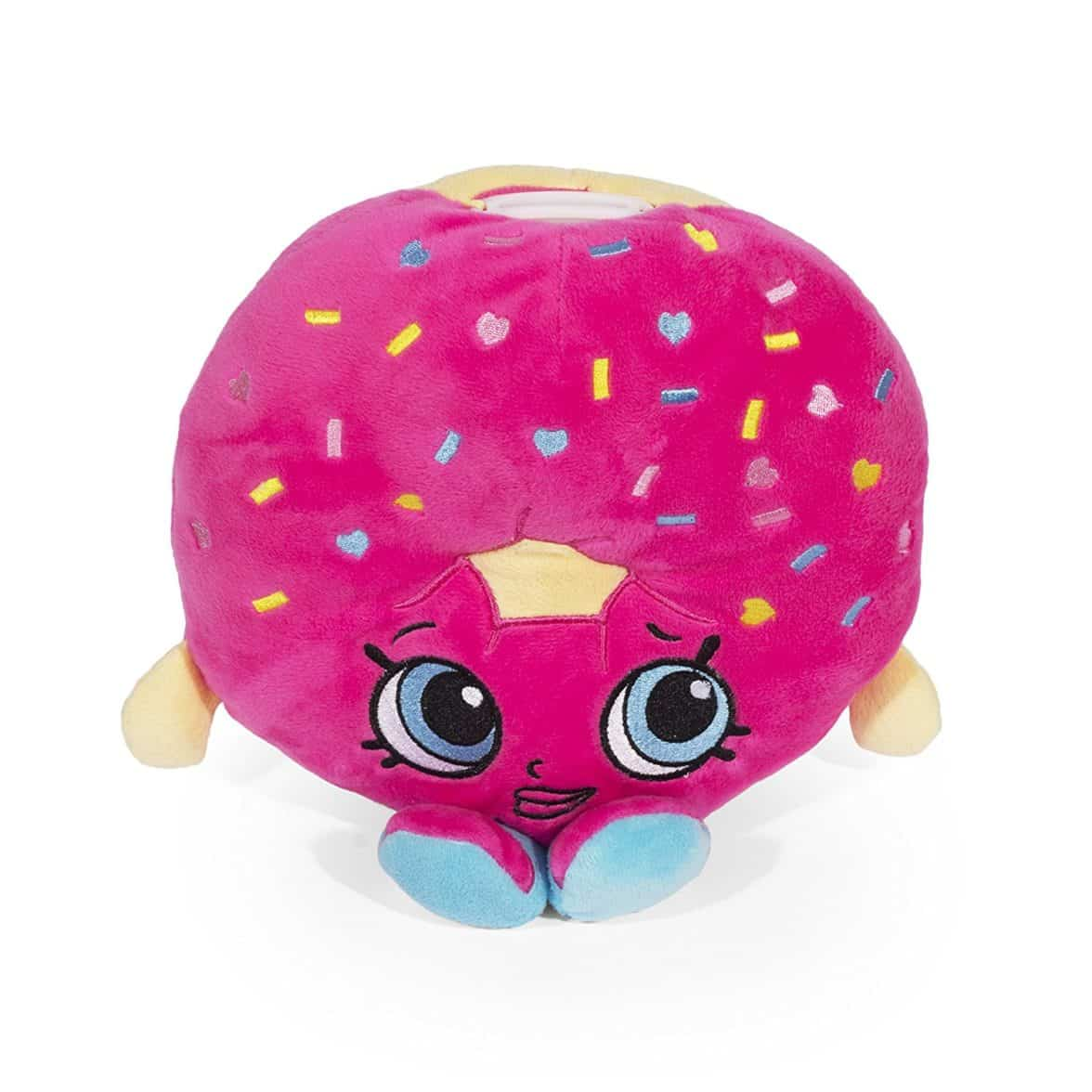 Shopkins D'Lish Donut Plush Coin Bank