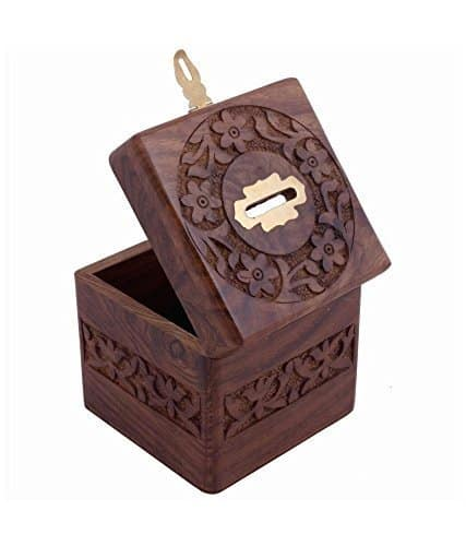 Buy thanks giving gift for loved ones unique gift items for Large piggy bank with lock