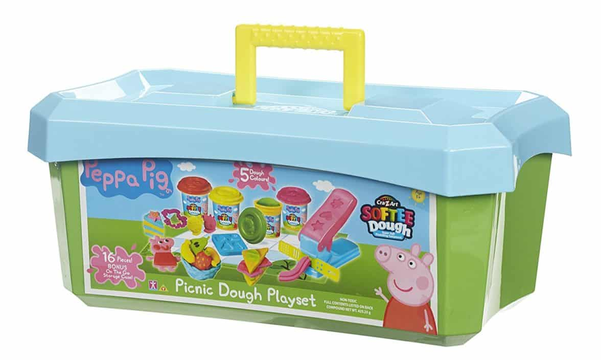 Cra-Z-Art Peppa Pig Softee Dough Picnic Activity Tub