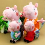 OliaDesign Piggy Family Plush Set (4 Pieces), Small