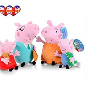 Peppa Pig Characters,Original Soft ToysDaddy,Mummy,Peppa &George Pig Available (Daddy Pig)
