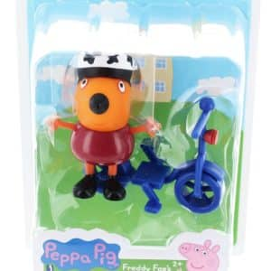 Peppa Pig Friends and Fun Freddy Fox's Bike Ride Toy Figure