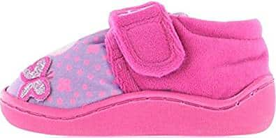 Peppa Pig Pink & Violet Slippers UK 8 Infant