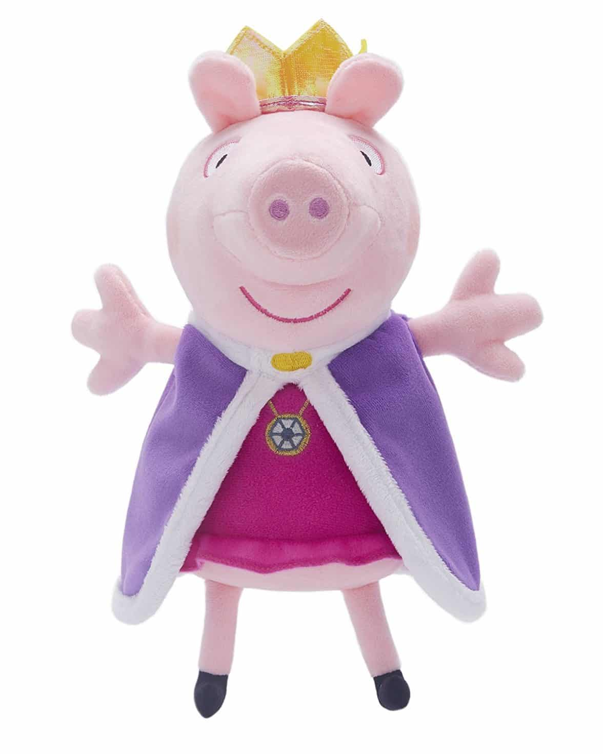 Peppa Pig Royal Princess Peppa 25cm Super Soft Plush Toy