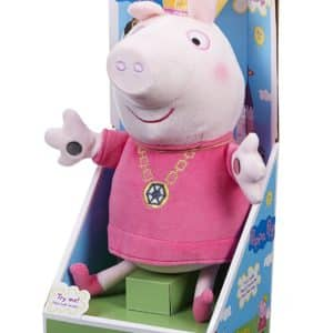 Peppa Pig Singing Princess Peppa Soft Plush Toy ''Ring O Roses''