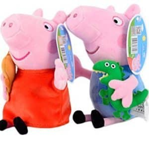 Trans-toys Trendy New Eco Smooth & Soft PP Cotton Kids Children Entertainment Hobby Playsets Puppet Peppa Pig Family Plush Toys Set 2