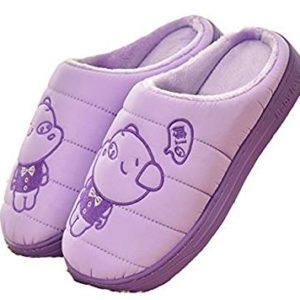 D.S.MOR Women's Piggy Winter Shoes Warm Slippers Home Slippers