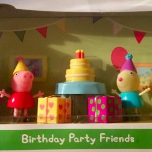 Exclusive Peppa Pig Birthday Party Friends Figure Set
