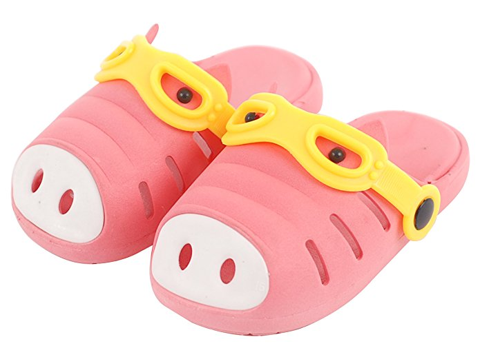 Kids Water Sport Garden Clogs Shoes Pig Patterned