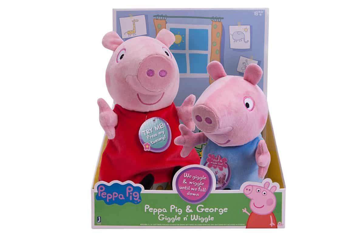 PEPPA PIG - Peppa and George Giggle n' Wiggle Plush