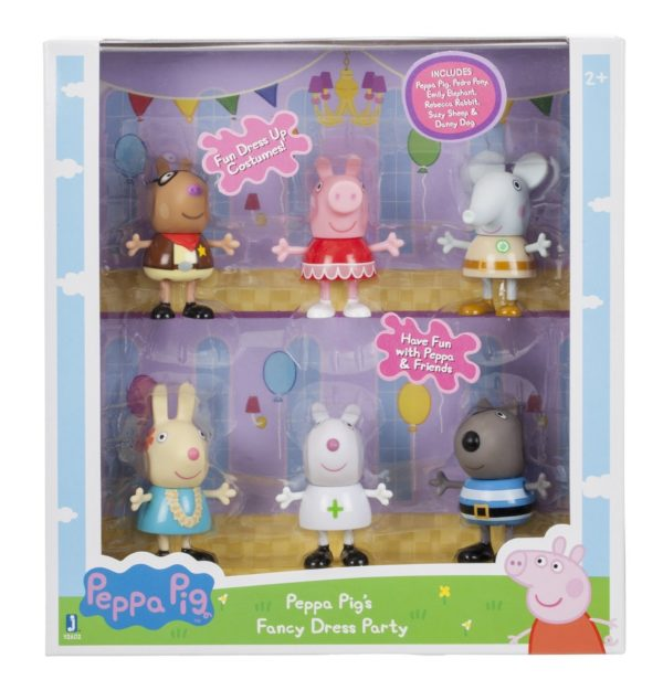 Peppa Pig Fancy Dress Party Toy Figure