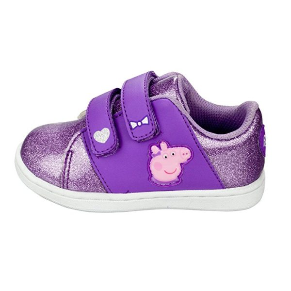 Peppa Pig Girls Velcro Strap Sneakers