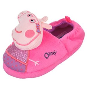 Peppa Pig Oink Girls Toddler Slipper
