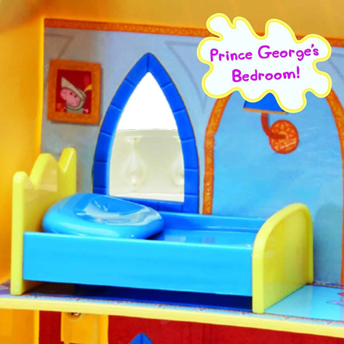 Peppa Pig Princess Peppa's Palace Playset Over 18 Pieces