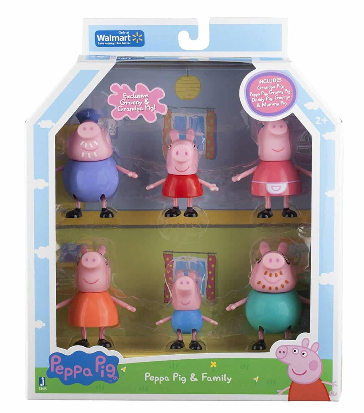 Peppa Pig and Family Figure