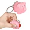 Ned the Naughty Pig Keychain