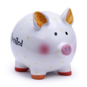 Ceramic Mini Piggy Bank