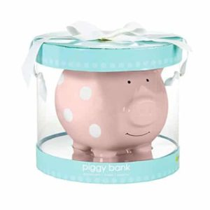 Ceramic Pink Piggy Bank