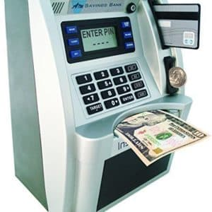 ATM Savings Bank - Limited Edition - SilverBlack