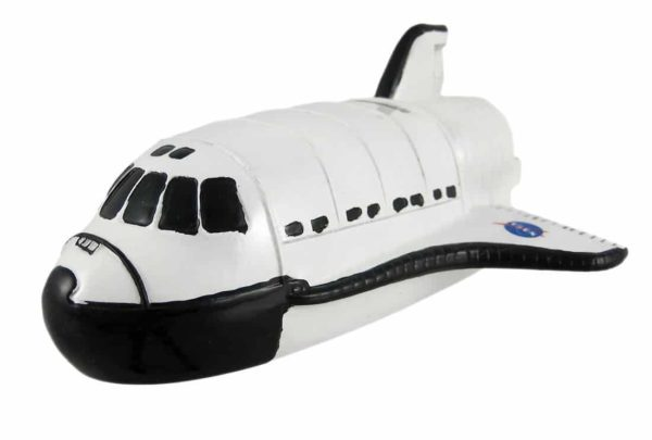 Cool Space Shuttle Piggy Bank Money Coin Nasa by KING