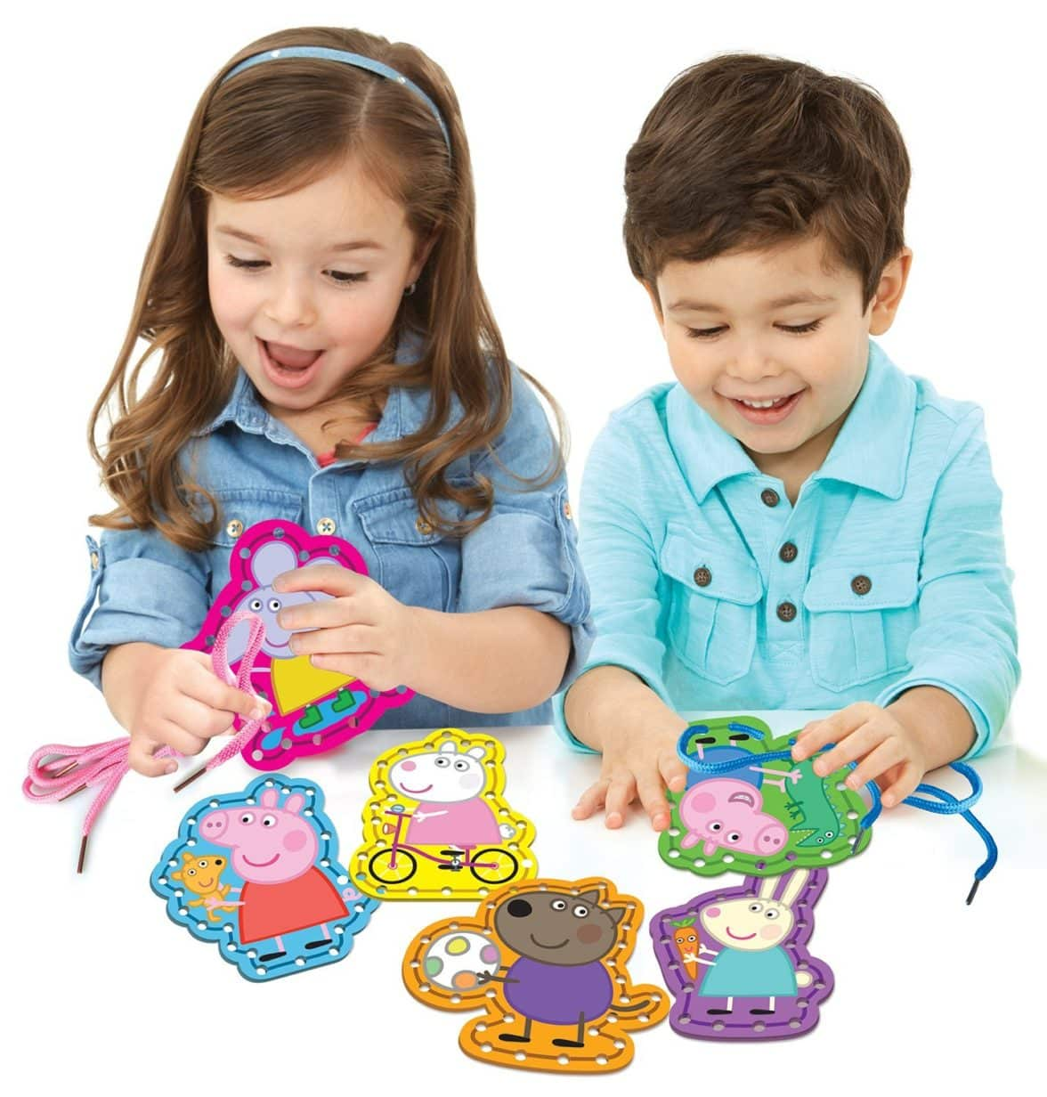 Cra-Z-Art Peppa Pig Learn To Lace Building Kit