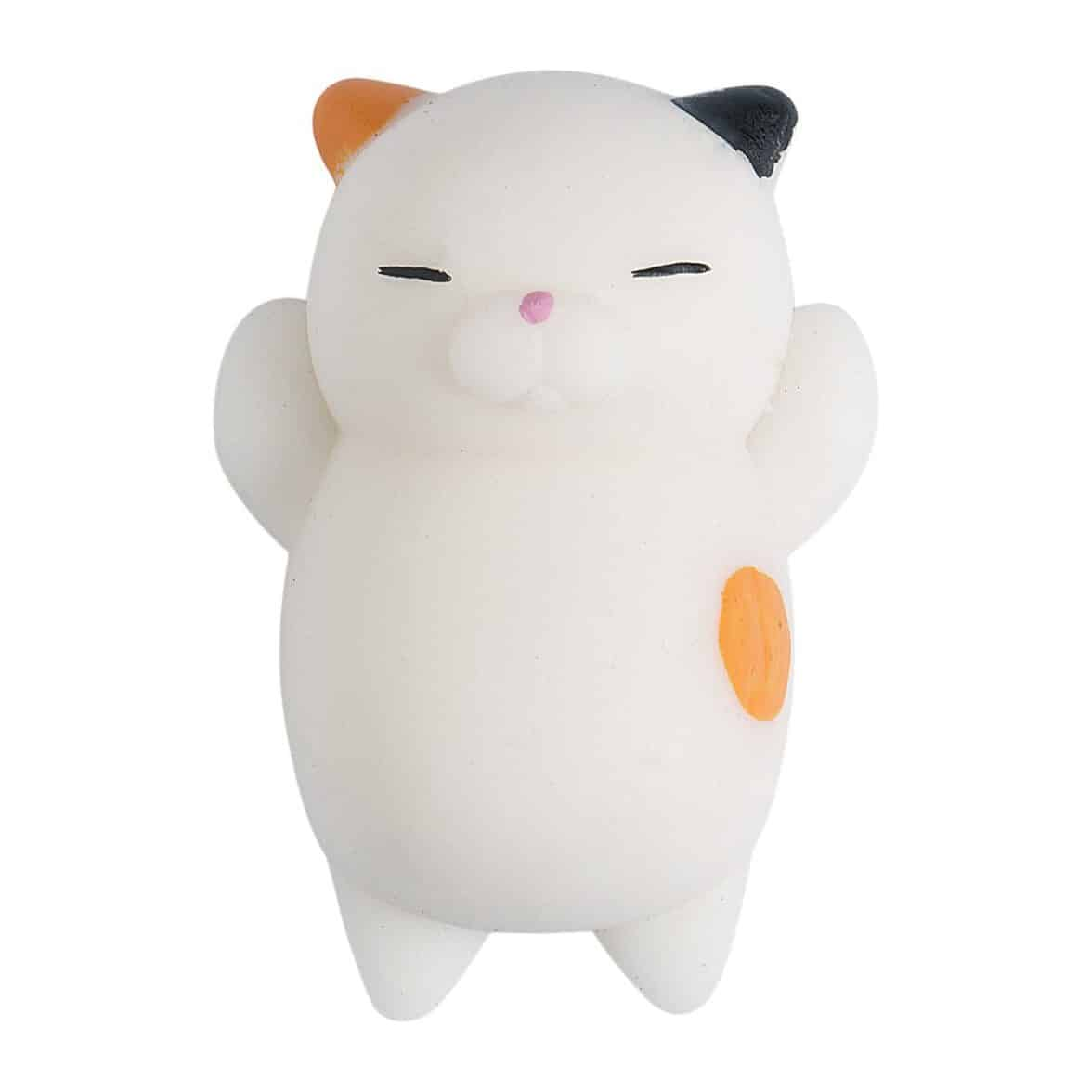 Cute Mini Animal Seals Healing Toys Squishy Stress Relief Toy for Kids Adults (Cat)