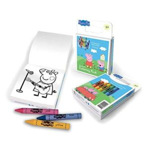 Peppa Pig On The Go Coloring Activity Pack with 8 Jumbo Crayons