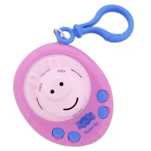 Peppa Pig Pocket Pal - Talking Toy Key Ring Figure