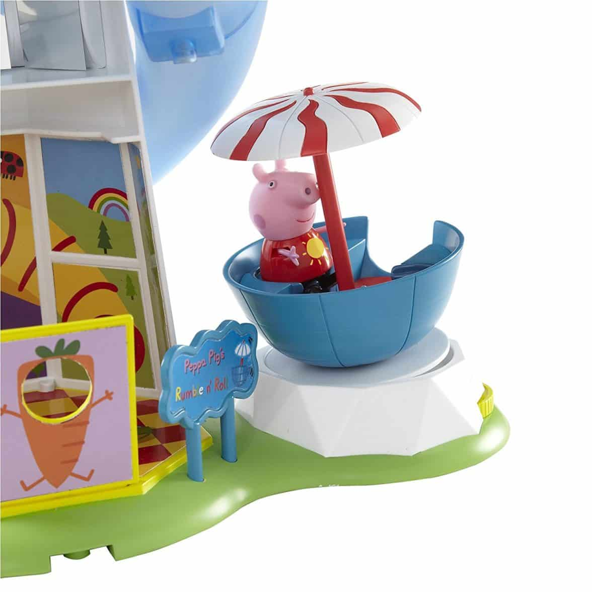 Peppa Pig Theme Park Helter Skelter Playset Toy
