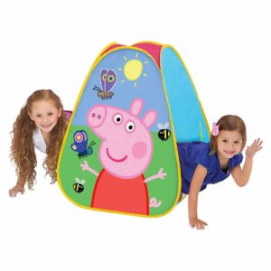 Playhut Peppa Pig Classic Hideaway Playhouse, Pink