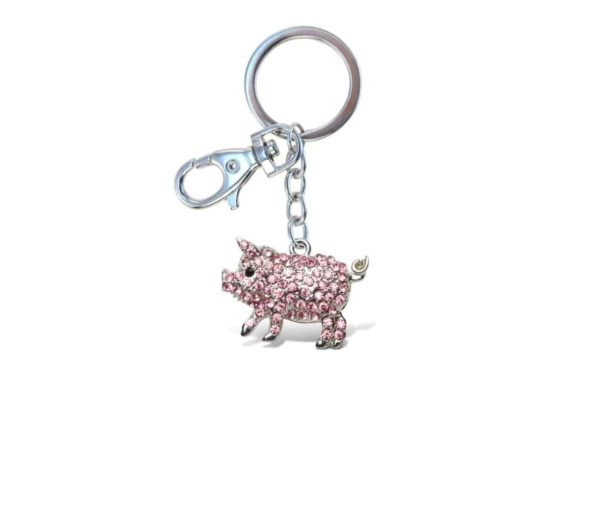 Puzzled Pig Sparkling Charms, 5 INCH