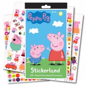 Stickerland Peppa Pig Stickers - 295 Stickers