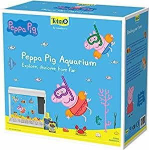 Tetra Peppa Pig Aquarium Tanks for kids, White